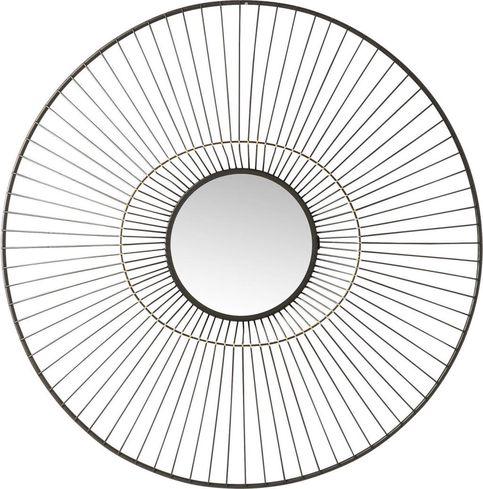 kare design spiegel filo 77cm. Black Bedroom Furniture Sets. Home Design Ideas